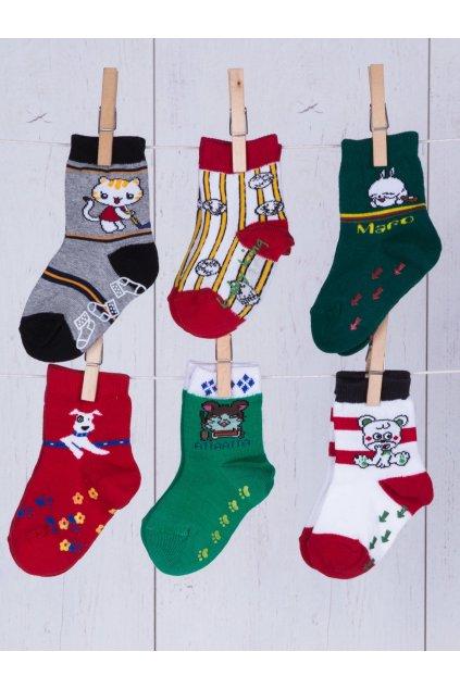 Detské ponožky kód TD-SR-026(6szt) 6ks