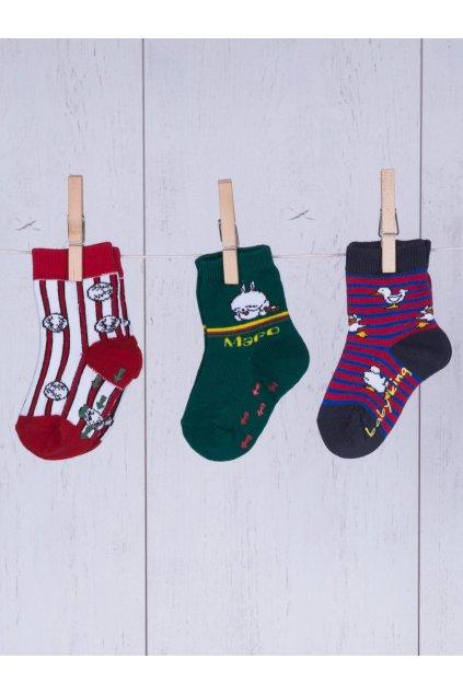Detské ponožky kód TD-SR-027(3szt) 3ks