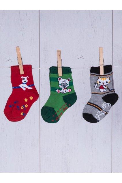 Detské ponožky kód TD-SR-028(3szt) 3ks