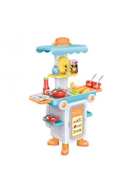 Detská rozkladacia kkuchyňka autobus Bayo + príslušenstvo