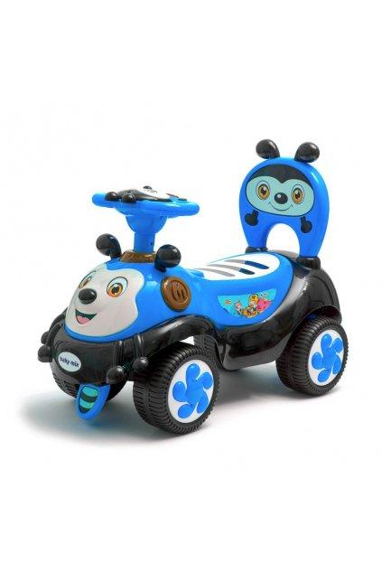 Detské odrážadlo so zvukom Baby Mix Happy Bee modré