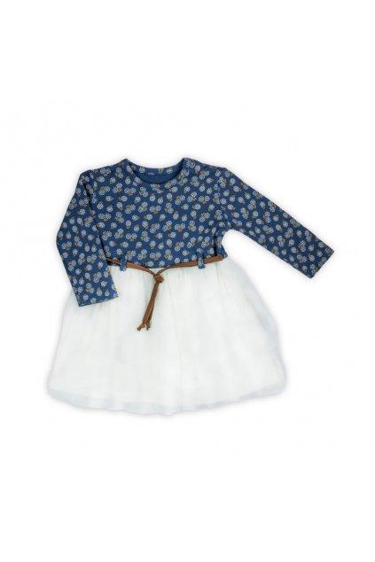 Dojčenské šatôčky s dlhým rukávom Nicol Sonia