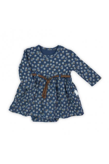 Dojčenské šatôčky-body s dlhým rukávom Nicol Sonia