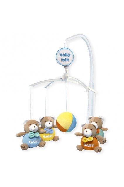 Kolotoč nad postieľku Baby Mix Medvedíky Baby