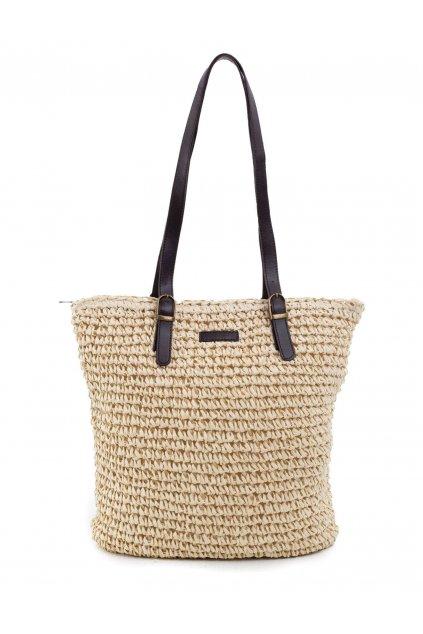 Plážová kabelka béžová kód YP-TR-ax3963.01X
