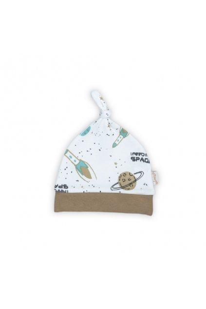 Dojčenská bavlnená čiapočka Nicol Star