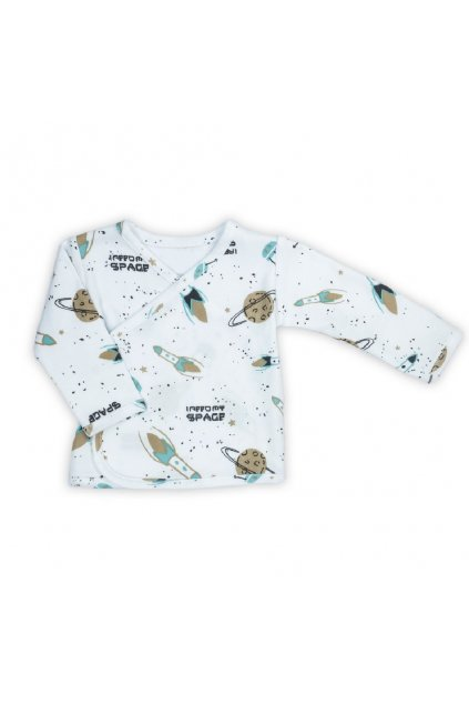 Dojčenská bavlněná košilka Nicol Star