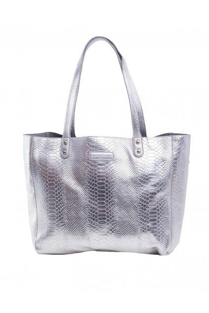 Shopper kabelka strieborná kód OW-TR-MCL88018