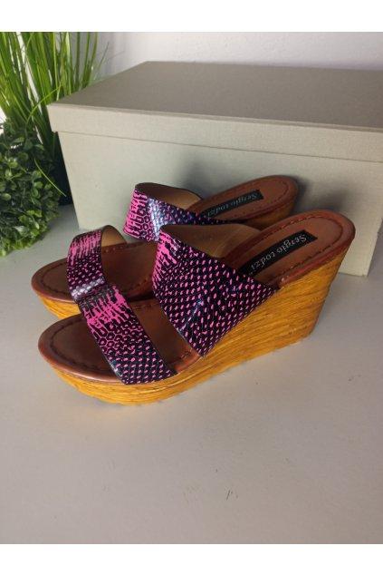 Béžové sandále NJSK MY149F