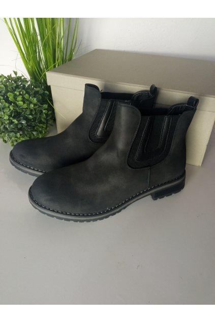 Čierne topánky NJSK 6059B