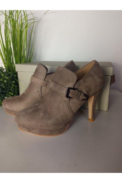 Hnedé topánky NJSK 0474KH