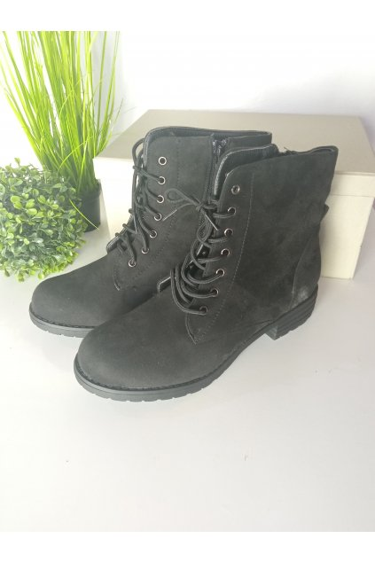 Čierne topánky NJSK B768B