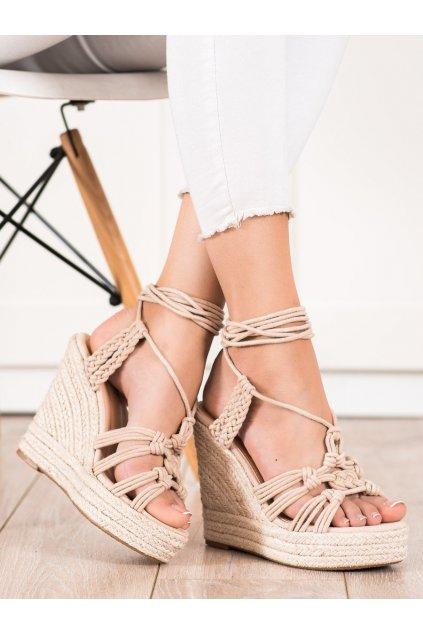 Hnedé dámske sandále Seastar kod M319NU