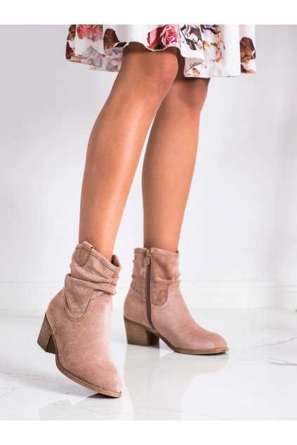 Ružové dámske topánky Shelovet kod Z1165KH