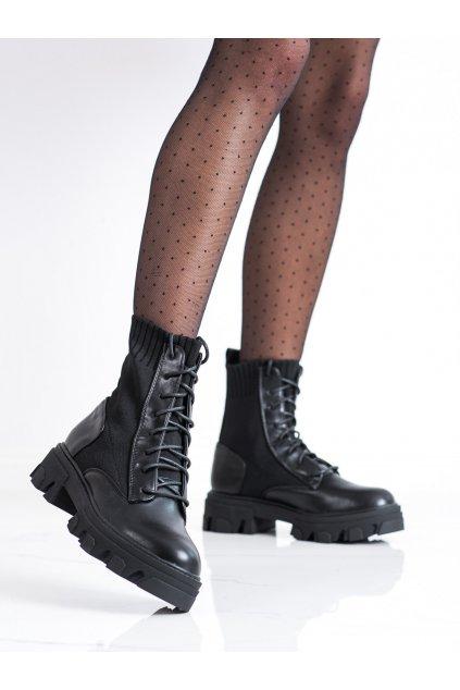 Čierne dámske topánky Seastar kod NC1152B