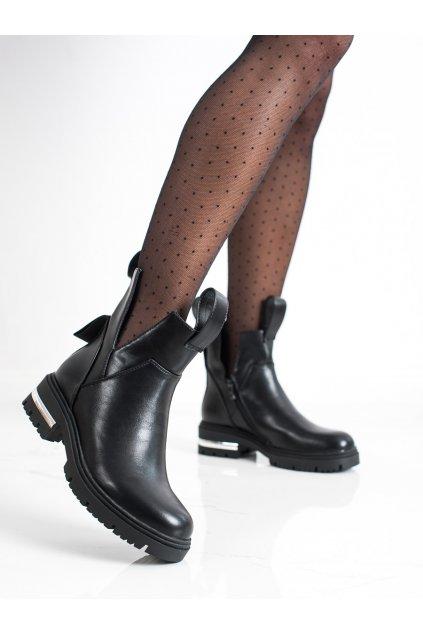Čierne dámske topánky Seastar kod NC1163B