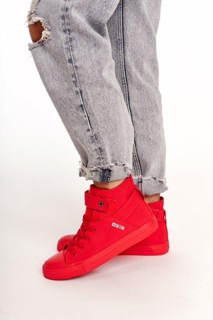 Dámske tenisky farba červená kód obuvi FF274580 RED