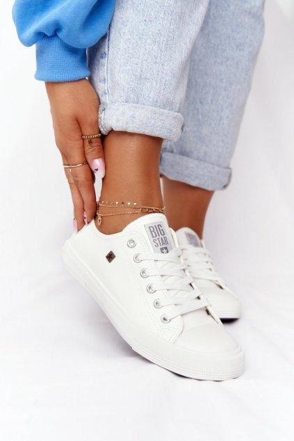 Dámske tenisky farba biela kód obuvi V274869 WHITE