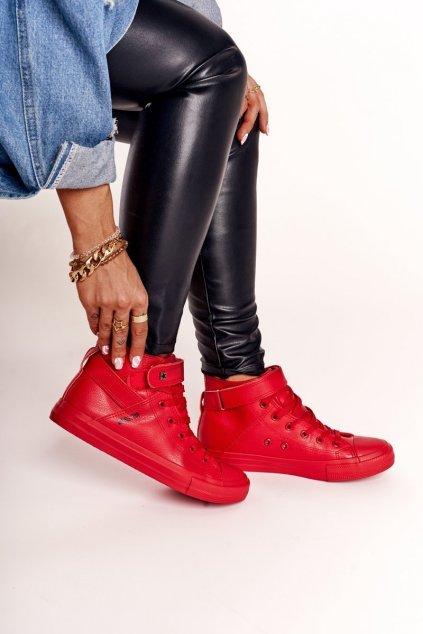 Dámske tenisky farba červená kód obuvi V274529 RED