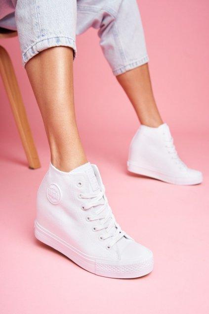 Dámske tenisky farba biela kód obuvi FF274A192 WHITE