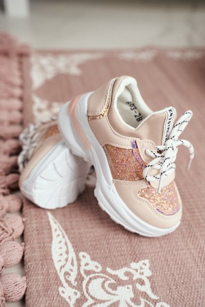 Dámske tenisky farba ružová kód obuvi 893-B PINK