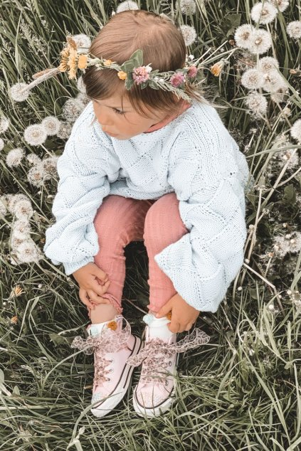 Detské tenisky farba ružová kód obuvi 873-C PINK