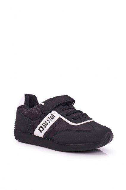 Detské tenisky farba čierna kód obuvi FF374134 BLK