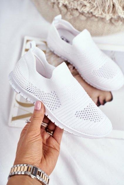 Detské tenisky farba biela kód obuvi 20DZ30-1920 WHITE / 9DZ30-1920