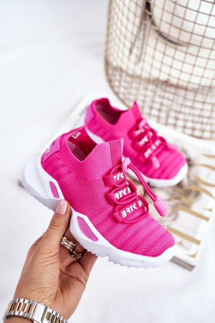 Detské tenisky farba ružová kód obuvi T-75203/65A FUCHSIA