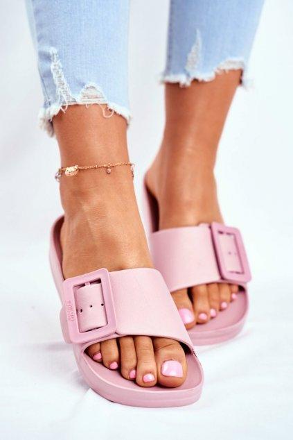 Dámske šľapky farba ružová kód obuvi FF274A387 PINK