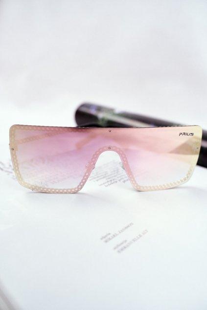 Slnečné okuliare PRIUS ružové PRE-12 GOLD PINK