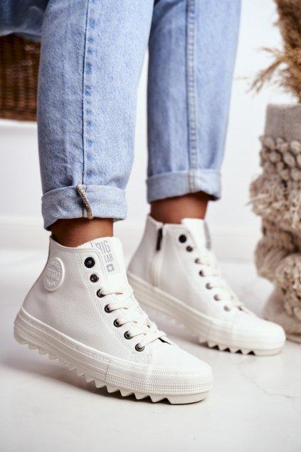 Dámske tenisky farba biela kód obuvi GG274108 WHITE