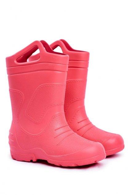 Ružová obuv kód topánok 51051 ROSA