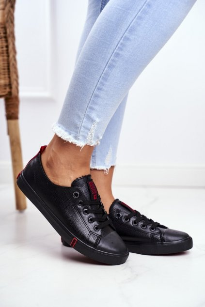 Dámske tenisky farba čierna kód obuvi GG274007