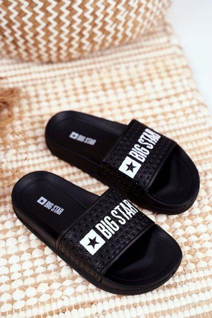 Detské šľapky farba čierna kód obuvi GG374800 BLK