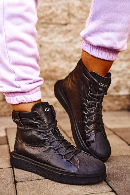 Dámske tenisky farba čierna kód obuvi GG2N3050 BLK