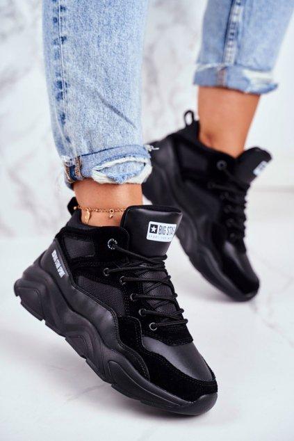 Dámske tenisky farba čierna kód obuvi GG274644 BLACK