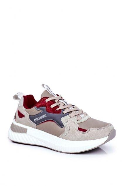 Sivá obuv kód topánok GG174463 GREY/BURGUND