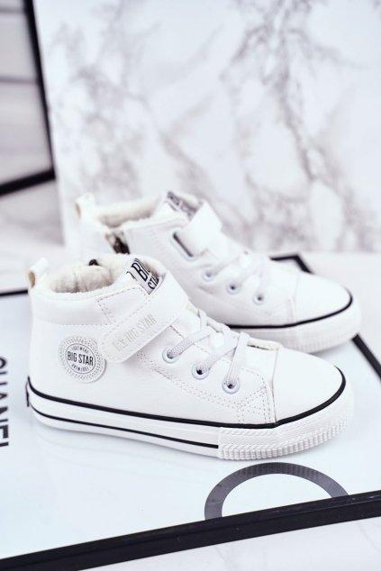 Detské tenisky farba biela kód obuvi GG374033 WHITE