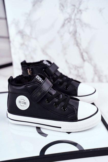 Detské tenisky farba čierna kód obuvi GG374035 BLK