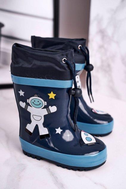 Modrá obuv kód topánok B97 NAVY
