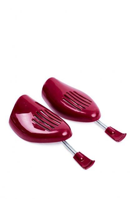 Plastový napínač topánok červený