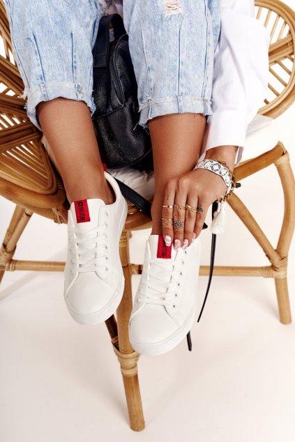 Dámske tenisky farba biela kód obuvi DD274685 101 WHITE