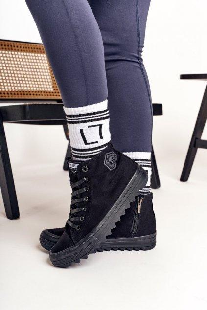 Dámske tenisky farba čierna kód obuvi FF274244 BLACK