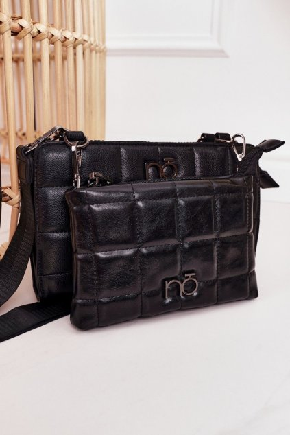 Dámska kabelka čierna kód kabelky NBAG-K1300-C020 BLK