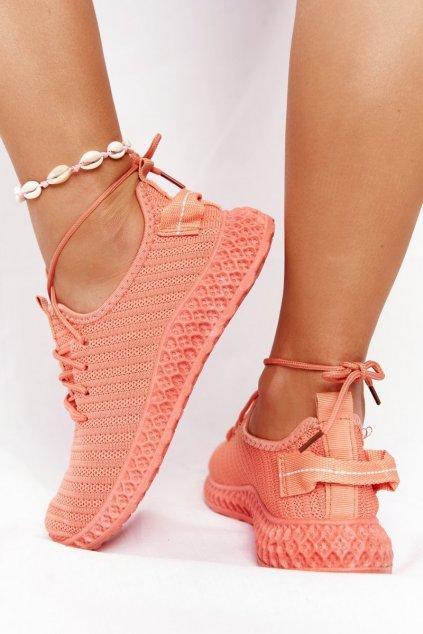Dámske tenisky farba oranžová kód obuvi NB390P CORAL
