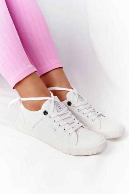 Dámske tenisky farba biela kód obuvi HH274017 WHITE