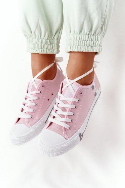 Dámske tenisky farba ružová kód obuvi HH274110 LT.PINK
