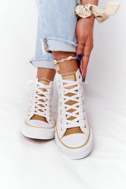 Dámske tenisky farba biela kód obuvi HH274450 OFF WHITE