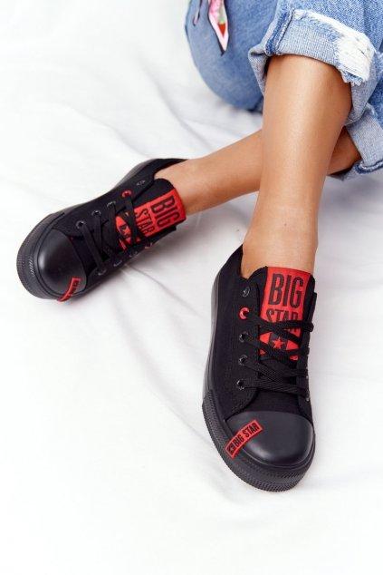 Dámske tenisky farba čierna kód obuvi HH274678 BLACK